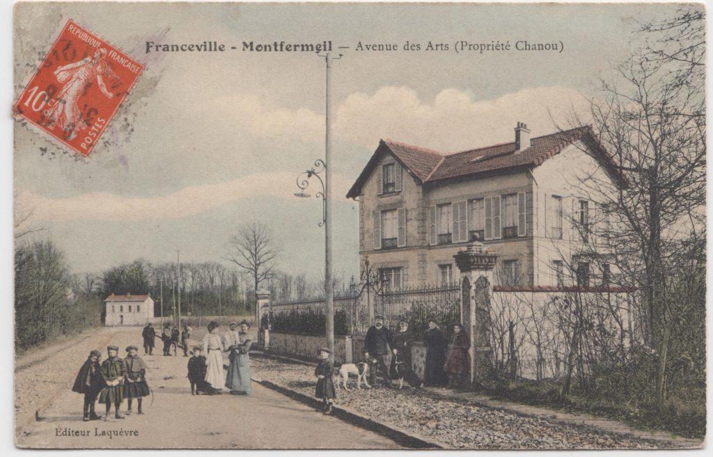 Avenue des Arts (Propriété Chanou) à Montfermeil
