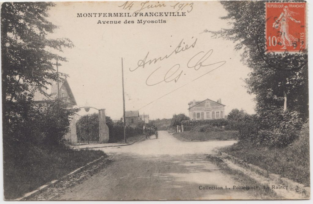 Avenue des Myosotis - Montfermeil