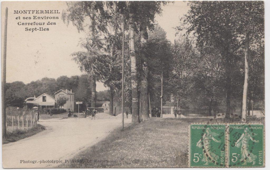 Carrefour des 7-Îles de Montfermeil