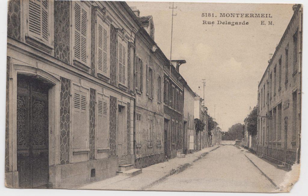 Rue Delagarde à Montfermeil