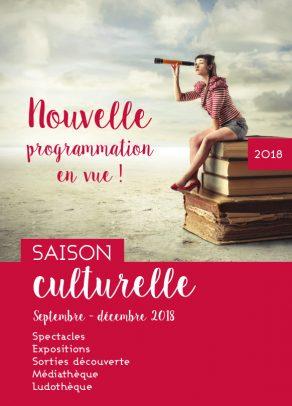 Guide saison culturelle septembre - décembre 2018