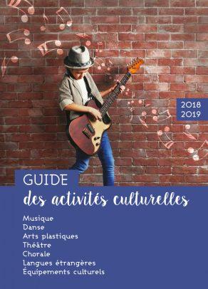 Guide des activités culturelles 2018-2019