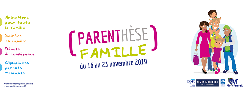 Parenthèse famille : une semaine d'animations pour toute la famille !