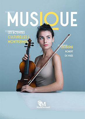 Couverture Les activités culturelles à Montfermeil : musique (2020)