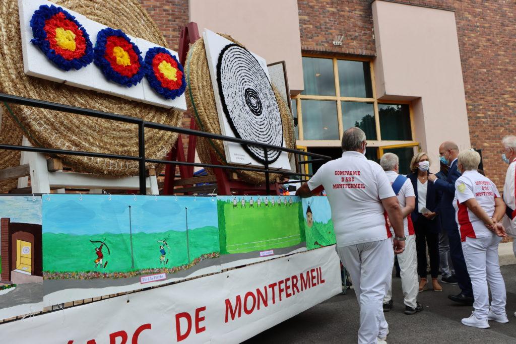 Compagnie d'arc de Montfermeil au forum des associations