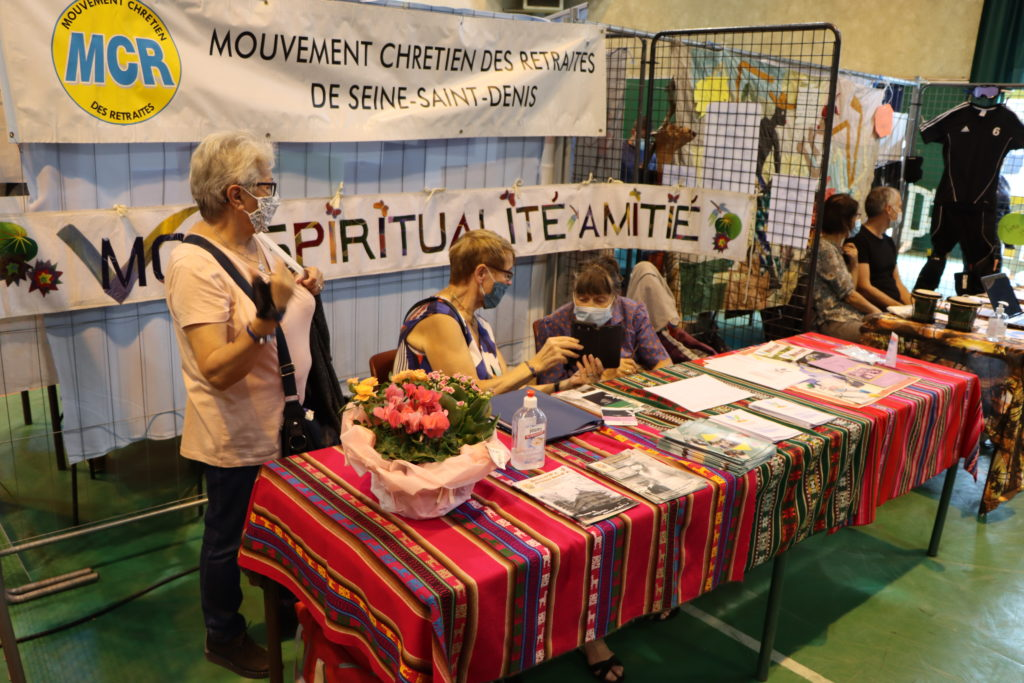 Mouvement Chrétien des retraités de Seine-Saint-Denis au forum des associations