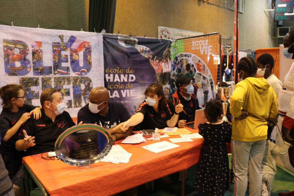 Ecole de Handball au forum des associations de haMontfermeil