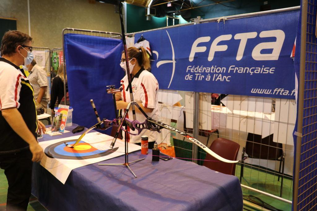 Fédération Française de Tir à l'Arc au forum des associations de Montfermeil