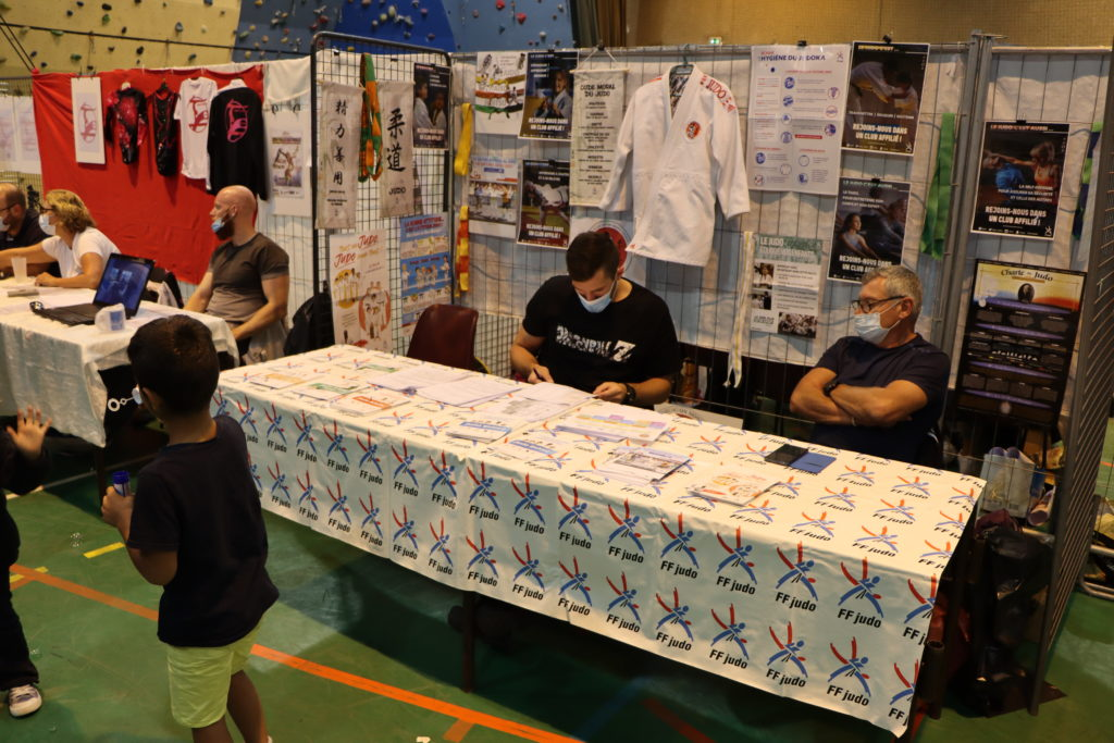 Fédération Française de Judo au forum des associations de Montfermeil