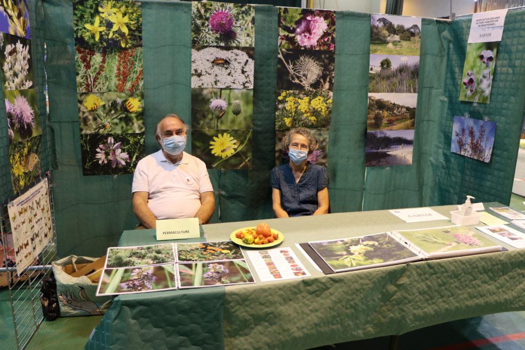 Stand de permaculture au forum des associations de Montfermeil