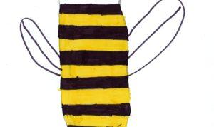 """Concours de dessin """"Imagine une abeille dans ta ville en 2030"""" - Alissa Benhamed"""