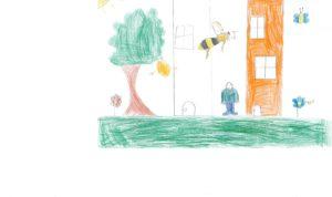 """Concours de dessin """"Imagine une abeille dans ta ville en 2030"""" - Fernando Rodrigues"""