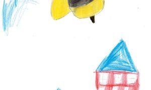 """Concours de dessin """"Imagine une abeille dans ta ville en 2030"""" - Yassine Kachour"""