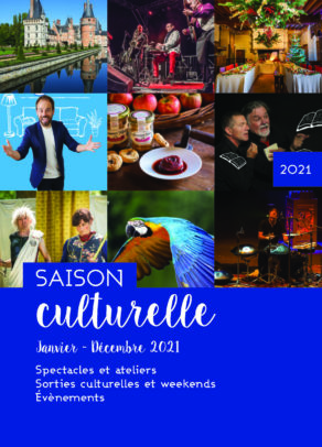 Couverture Saison culturelle 2021