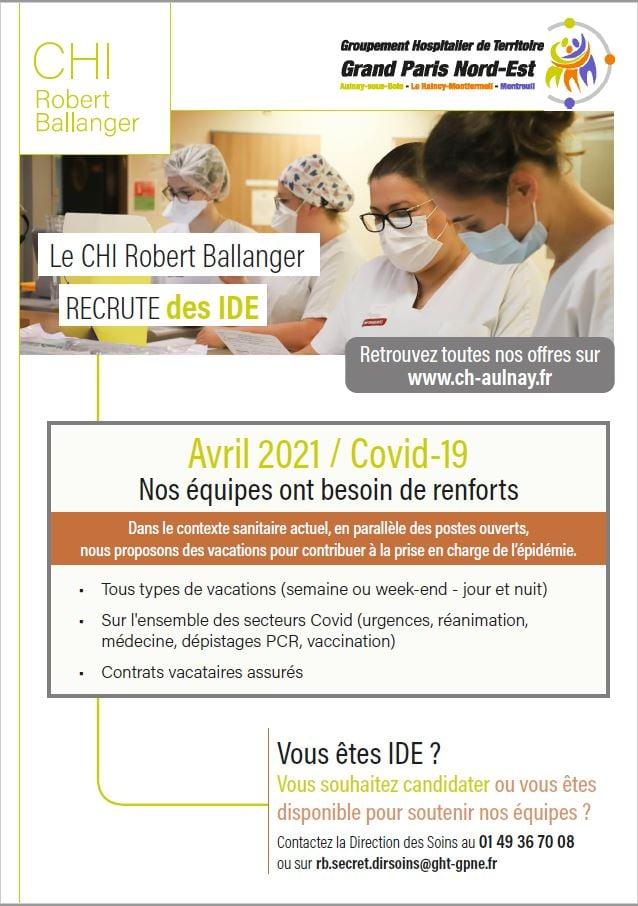 Recrutement hôpital - GHI Le Raincy-Montfermeil