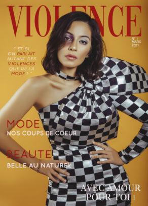 Couverture Violence magazine mars 2021