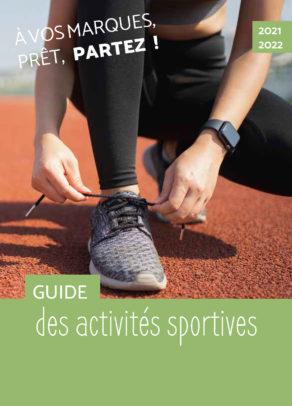Couverture Guide des sports 2021-2022